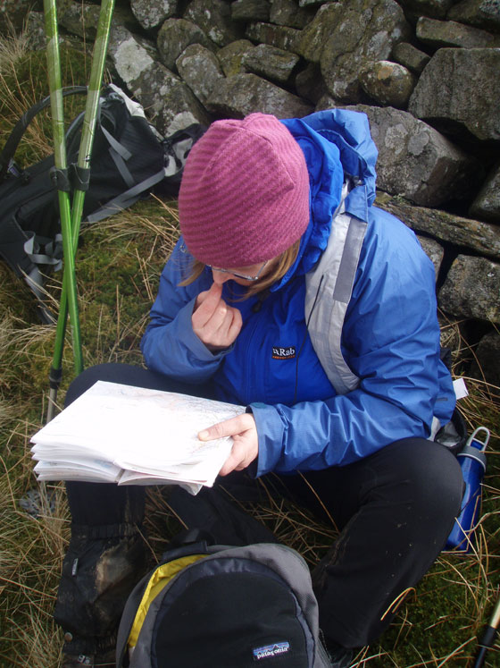 Navigation training, North Pennines, Eden Valley
