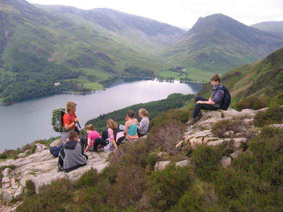 buttermere walking